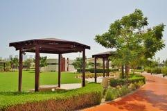 Delmapark in Abu Dhabi Royalty-vrije Stock Afbeelding