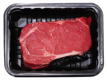 Delmonico Rippe-Augen-Steak Stockfotos