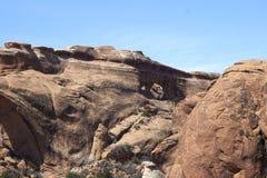 Delningsbåge, Utah Fotografering för Bildbyråer