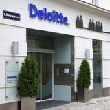 Deloitte Ευρώπη Στοκ φωτογραφία με δικαίωμα ελεύθερης χρήσης
