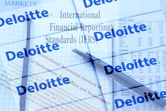 Deloitte Royalty Free Stock Image