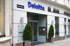 Deloitte Royalty Free Stock Photos