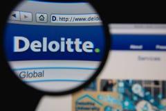 Deloitte Zdjęcia Stock