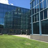 Deloitte office in Stamford, Connecticut Stock Photo