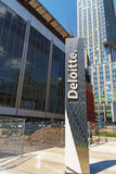 Deloitte tower Stock Images