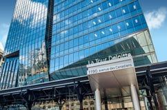 Deloitte tower Stock Photos