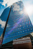 Deloitte tower Stock Photography