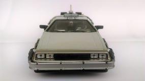 Delorean -回到未来1和2汽车 图库摄影