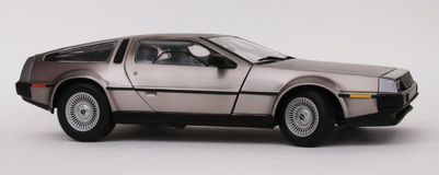 delorean Fotografia Stock