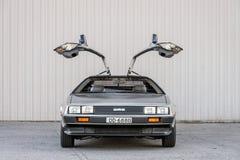 DeLorean DMC-12汽车 图库摄影