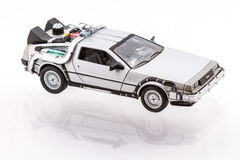 1982年DeLorean DMC-12 库存照片