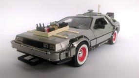 Delorean zurück zu dem Auto der Zukunft 3 Lizenzfreie Stockfotos