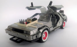 Delorean zurück zu dem Auto der Zukunft 3 Lizenzfreies Stockbild