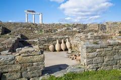 Delos Amphora Stock Images