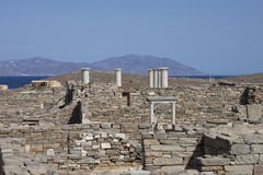 Delos island Royalty Free Stock Photos
