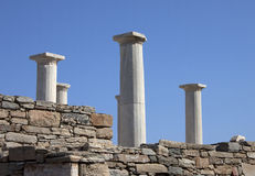 Delos island Royalty Free Stock Images