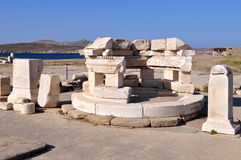 Delos island in Greece. Royalty Free Stock Image