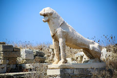 Delos Royalty Free Stock Images