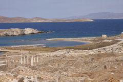 Delos island Stock Photography