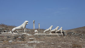 Delos island Stock Images