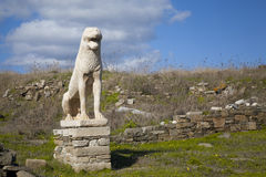 Delos Lion Stock Photos