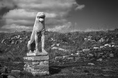 Delos Lion Royalty Free Stock Photography