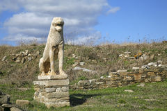 Delos Lion Royalty Free Stock Image
