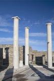 Delos Ruins Stock Images