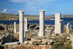 Delos Ruins Stock Image