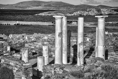 Delos Ruins Royalty Free Stock Images