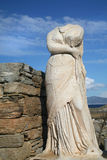 Delos Statue Royalty Free Stock Images