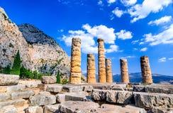 Delphes, Grèce image libre de droits
