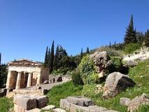 Delphes Grèce Images libres de droits