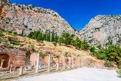 Delphes, Grèce images libres de droits