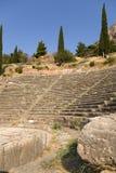 Delphes. Théâtre Image libre de droits