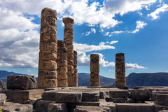 delphi Греция Стоковые Фото