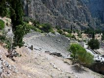 Delphi Amphitheater, Greece Stock Photography
