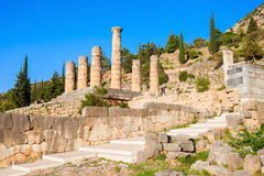Delphi ancient sanctuary, Greece Royalty Free Stock Image