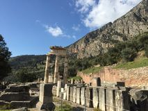 Delphi antyczny obraz stock