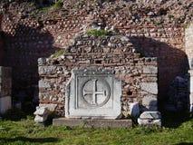 Delphi antyczny sanktuarium Phocis Grecja Zdjęcie Stock