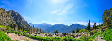 Delphi Archaeological Site Royalty Free Stock Images