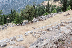 Delphi Archaeological Site Greece Stock Images