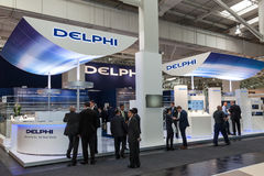 DELPHI Automotive Company allo IAA 2016 Immagine Stock