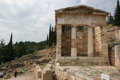 Delphi en Grecia Fotografía de archivo