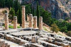 Delphi, Grécia imagem de stock