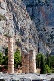 Delphi Grece Arkivbilder