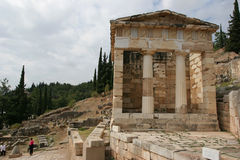 Delphi in Greece Stock Photography