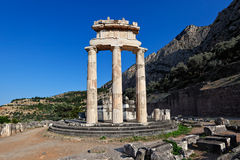 delphi greece Royaltyfri Fotografi
