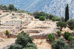 Delphi Greece Royalty Free Stock Photography