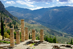 Delphi, Greece Royalty Free Stock Photo